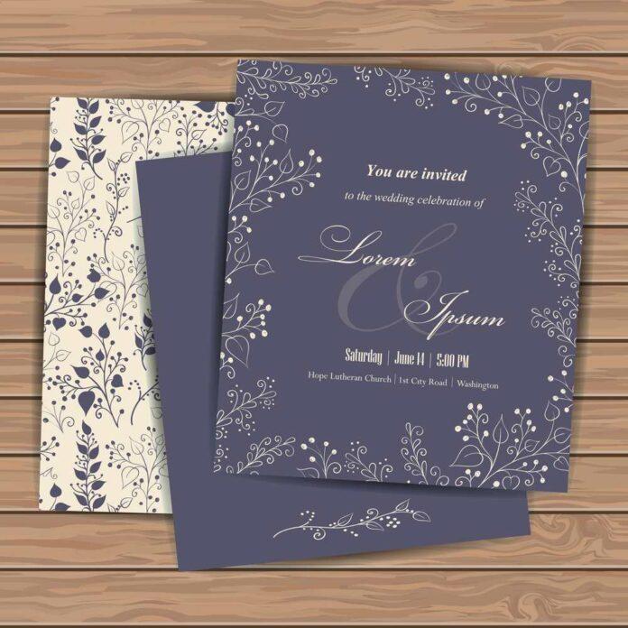 Zaproszenia weselne